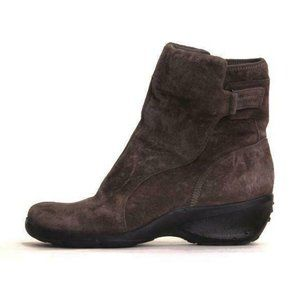 PRIVO BY CLARKS INSULATED BOOTS suede hiking 7.5